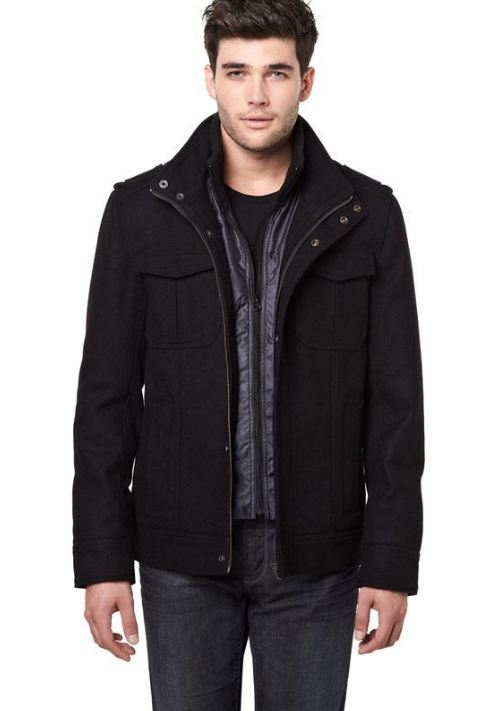 RWCO cool factor collection Short wool blend jacket , men's fashion, Vancouver, Fall staples
