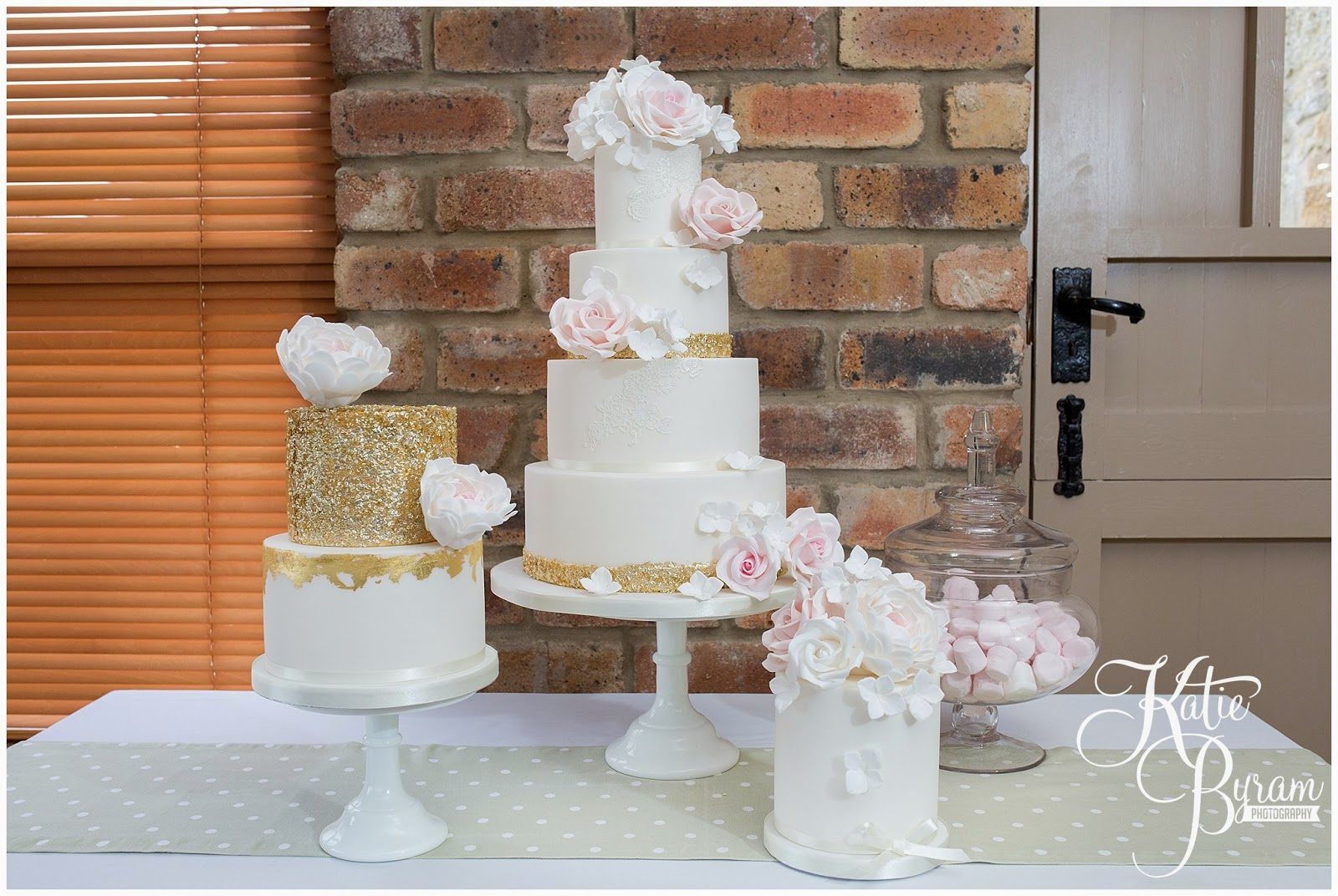 dessert table, the master cakesmith, dawn cake maker, newton hall, ellingham hall, alnwick garden, northumberland wedding cake, northumberland wedding, katie byram photography