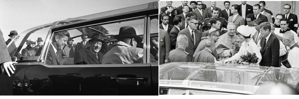 JFK Secret Service bubbletop: NY 1/19/62 and Mexico