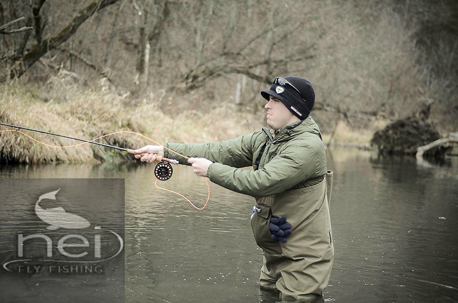 The driftless experience from afghanistan to iowa to fly fish for Fly fishing iowa