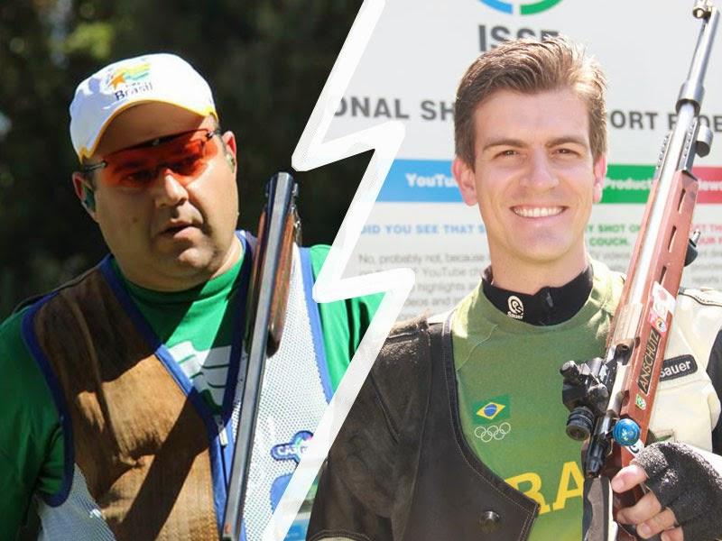 Tiro Esportivo brasileiro tem dois atletas entre os 20 melhores do mundo