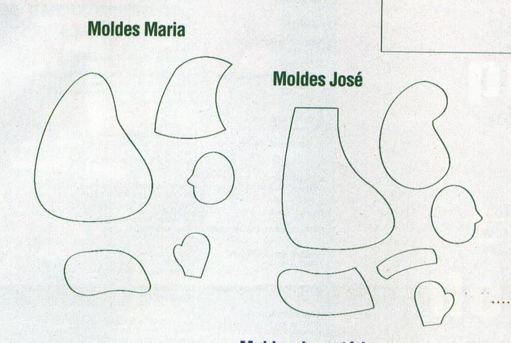 presépio com moldes Sagrada+fam%25C3%25ADlia+3+-+molde+2