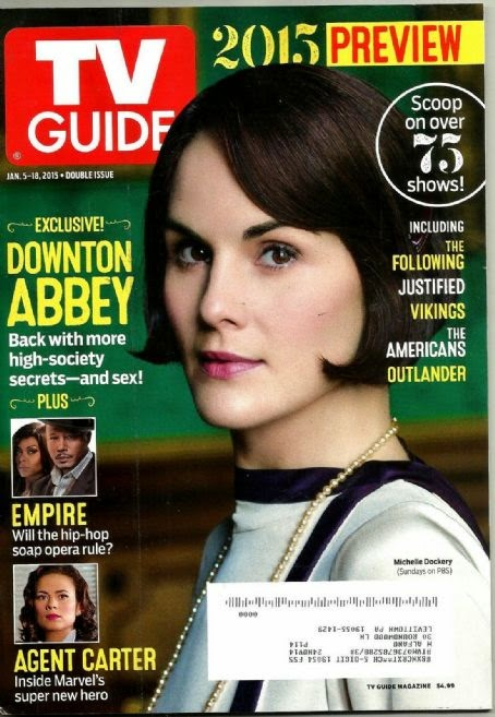 Michelle Dockery - Tv Guide, USA, January 2015
