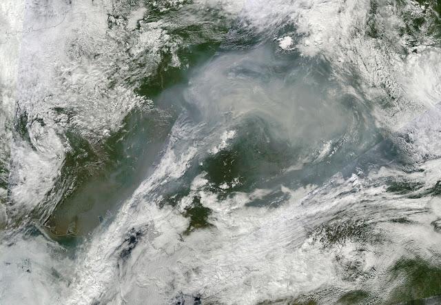 Wielkie pożary na Syberii 2015