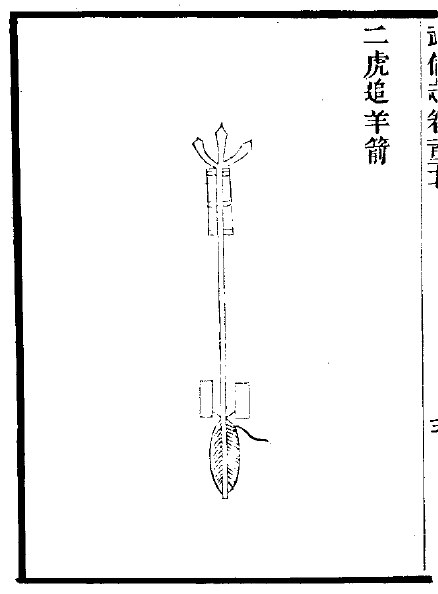 Chinese Twin Engine Incendiary Rocket