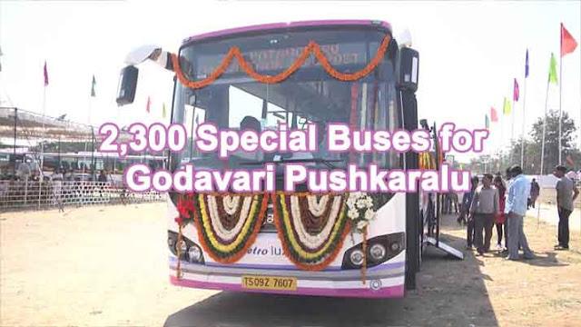 Godavari Pushkaram Maha Pushkaralu 2015 apsrtc TSRTC Special Buses Timings Schedule List Details