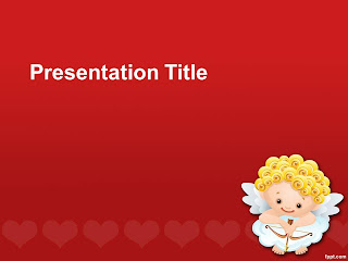 St. Valentine's Day PowerPoint Template 001