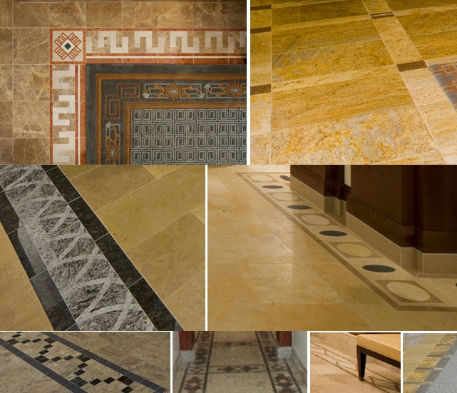 Stone Floor Inlays : The trumpet stone lds temple inlays and mosaics