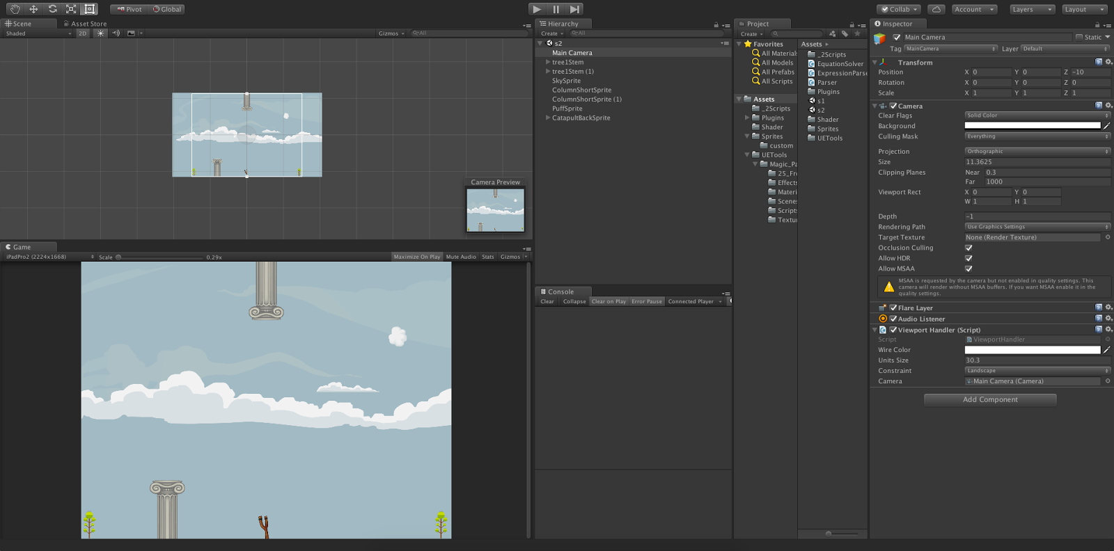 How to create 2D game in unity for all resolution devices   LetC