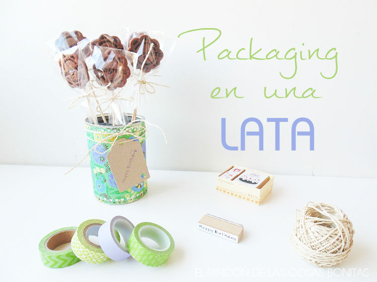 packaging para galletas en una lata