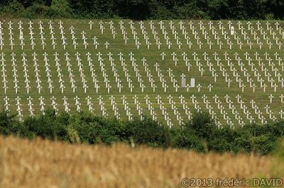 cimetière militaire nécropole WWI première guerre mondiale verdun meuse