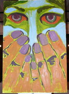 Painting from the Zenergy art show.