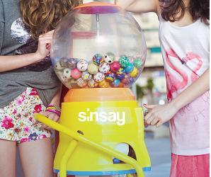 sinsay cukierki