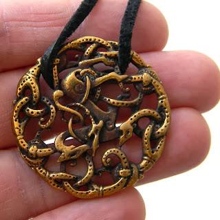 бронзовые украшения скандинавские подарок девушке