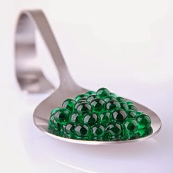 "Multi textured gel balls - ""caviar"""