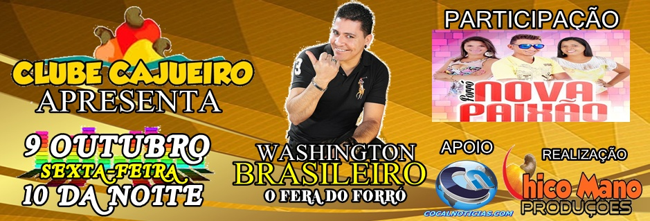 WASHINGTON BRASILEIRO CHICO MANO