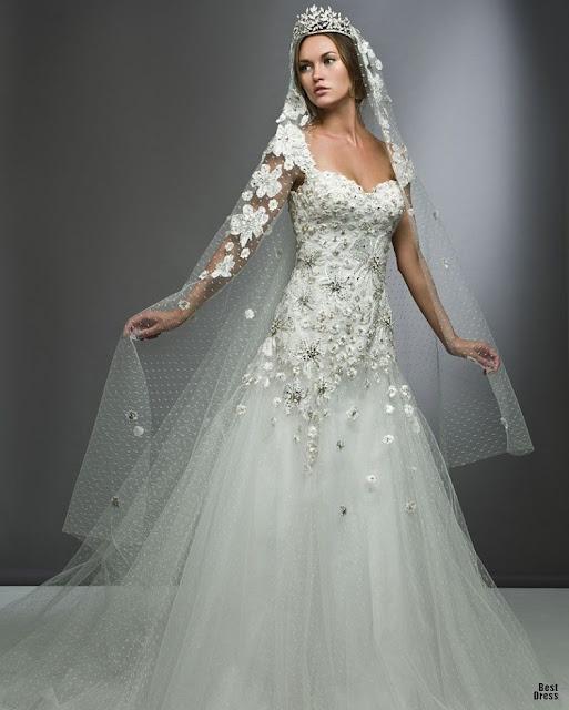 Robe de mariee orientale blanche