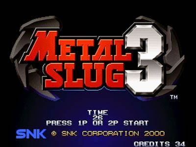 Metal Slug 3 Free Download Full Version PC Game