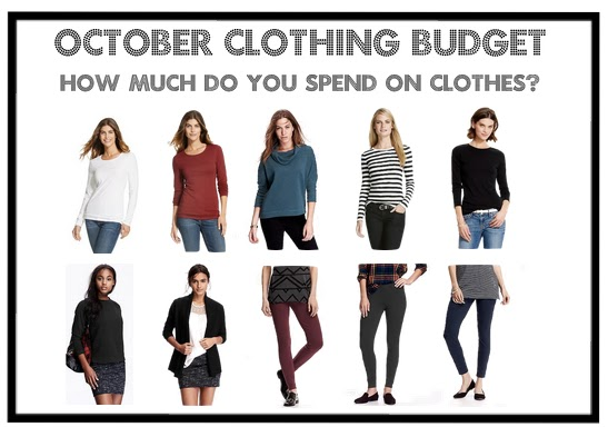 How much do you spend on clothes? | October Clothing Budget | Fall Fashion | Curvy Outfit Ideas | Petite Outfit Ideas | Plus Size Fashion | OOTD | Professional Casual Chic Fashion and Style Inspiration