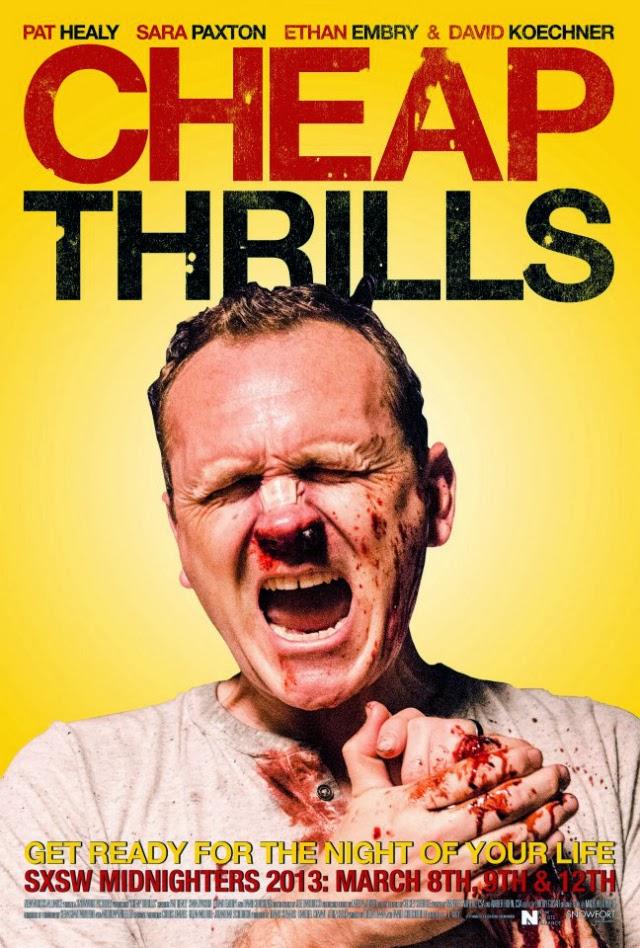 La película Cheap Thrills
