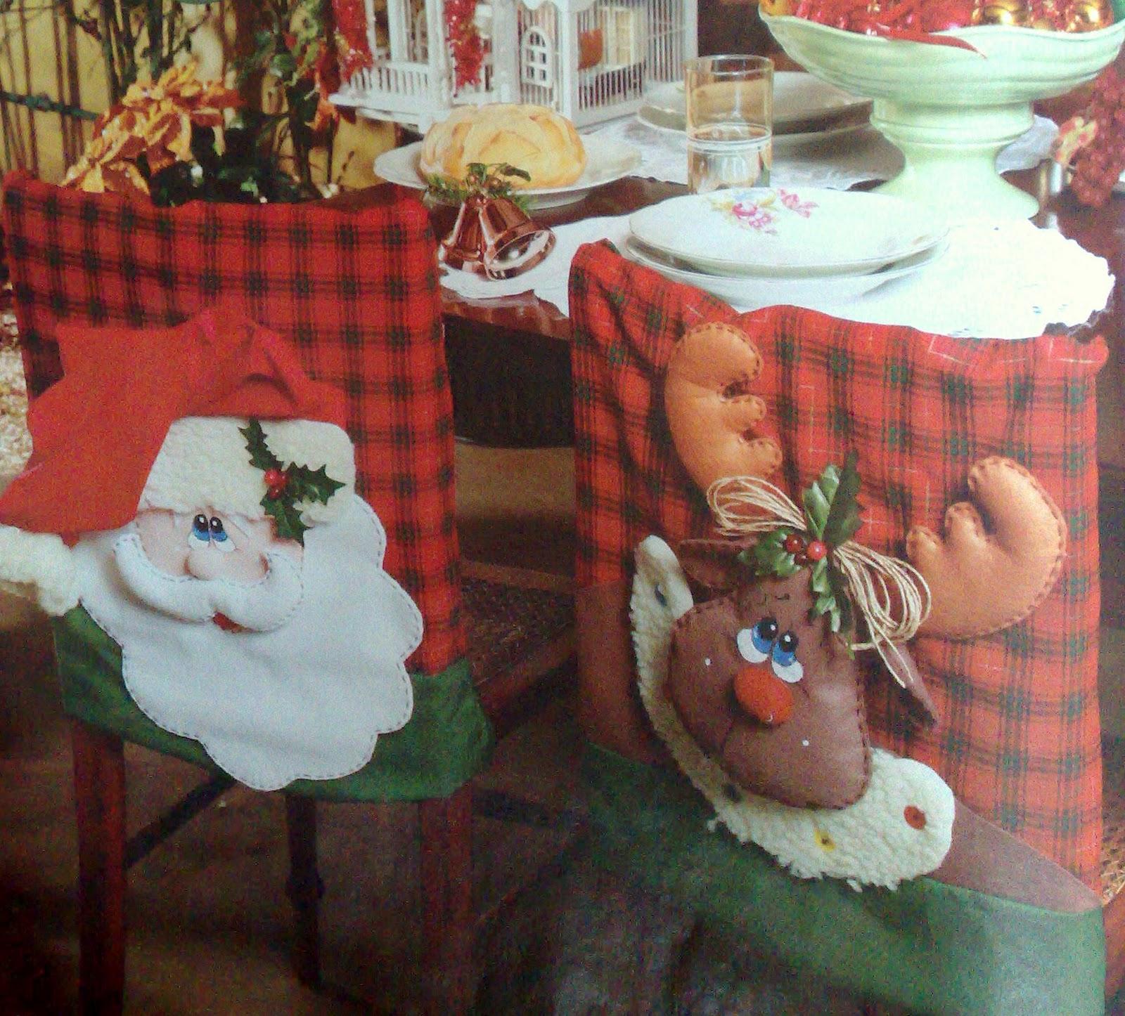 capa de cadeira para o Natal com molde e PAP (DIY) #9C362F 1600x1446
