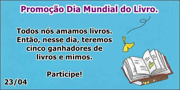 Sorteio Dia Mundial Do Livro