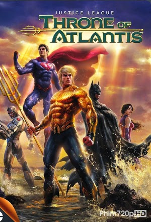 Justice League: Throne of Atlantis 2015 poster