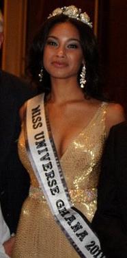miss universe ghana 2011 winner yayra erica nego