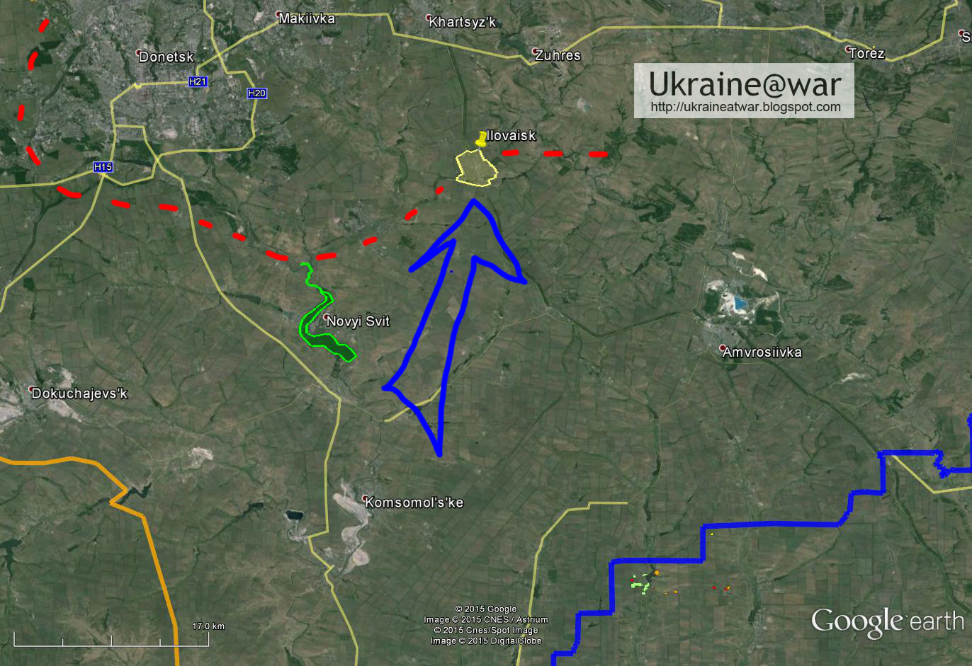 Satellite Images Prove Russian Forces Crossed The Border To Attack