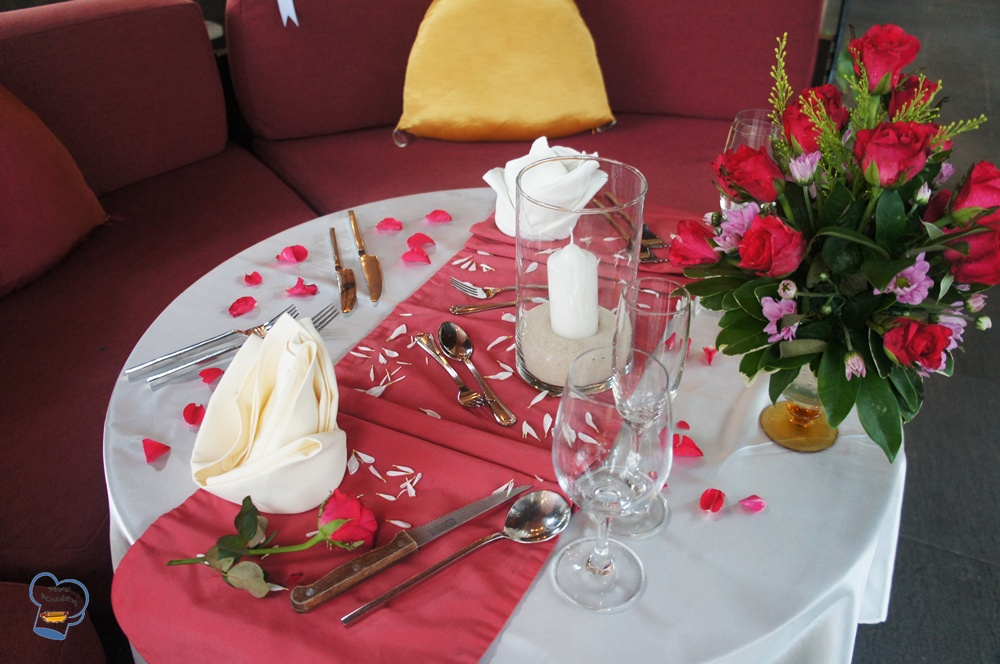 Pinay Panadera 39 S Culinary Adventures Romantic Dinner Set Up