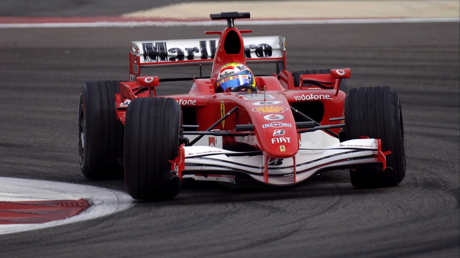 Ferrari Racing Cars Wallpaper