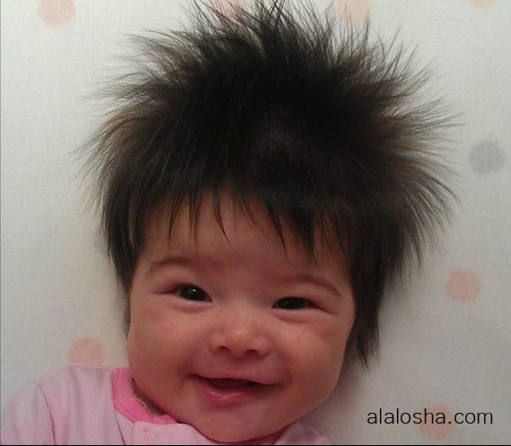 Alalosha Vogue Enfants Funny Babies Hair Styles