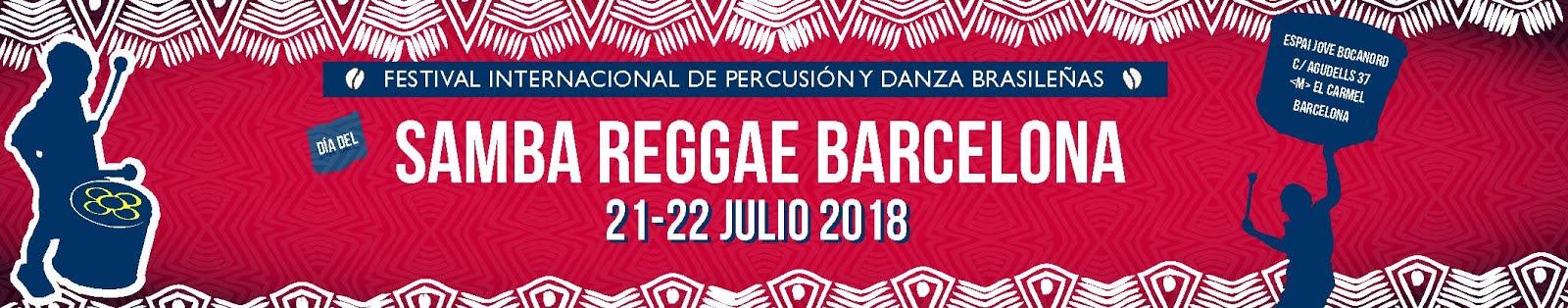 Día del Samba Reggae en Barcelona
