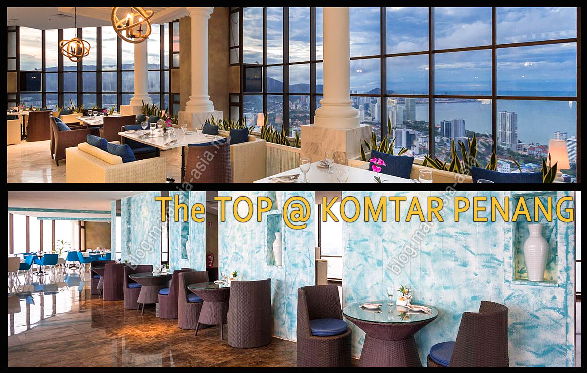 One Of The New Tourism Attractions In Penang Is Located On Top Highest Building Island And Called At Komtar
