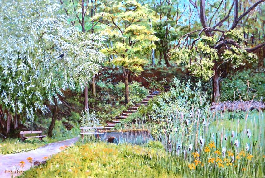 Hawthorn Triangle Spring