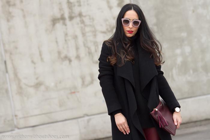 Blogger de Valencia con estilo urbano chic en la MBFWM