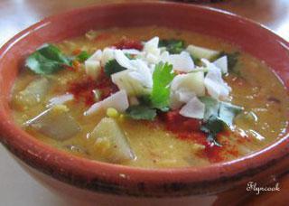 mango lentil soup