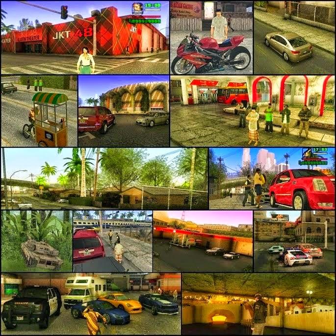 GTA Extreme Indonesia v6 (100% Work) Terbaru 2015 screenshot