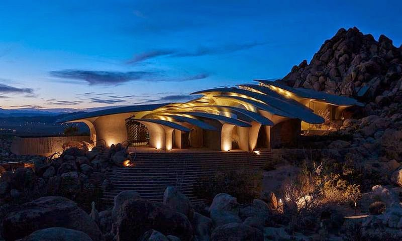 COOGLED NEW DESERT HOUSE DESIGN BY KENDRICK BANGS KELLOGG JOSHUA TREE NATION