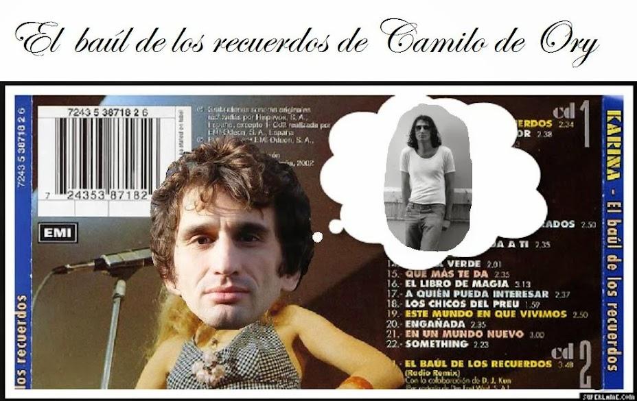 El baúl de los recuerdos de Camilo de Ory