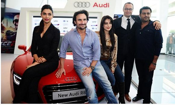 Race 2 actor and actress