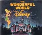 The Wonderful World of Disney logo with Tinker Bell and Cinderella's Castle