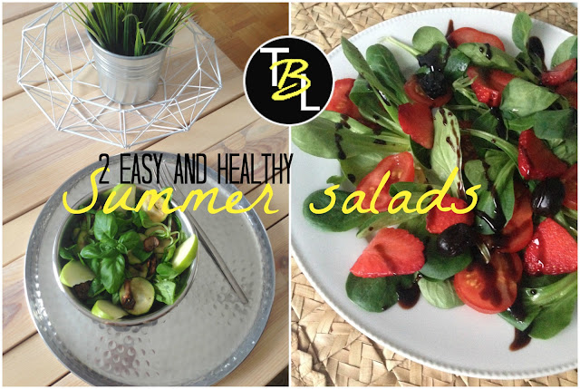 TheBlondeLion food recipes easy and healthy summer salads http://www.theblondelion.com/2015/05/food-2-easy-and-healthy-summer-salads.html