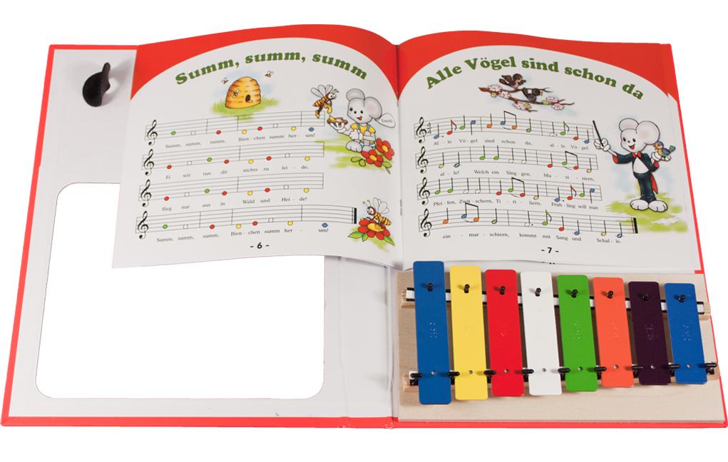 Lieder nach bunten Noten spielen auf der Melodica | Zambomba
