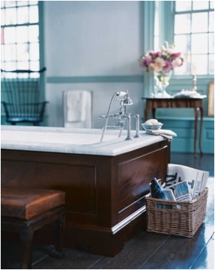 English Country Bathroom Design Ideas - Home Decorating Ideas on