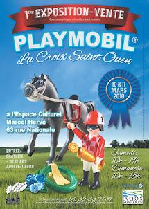 1ère Bourse Expo Playmobil, La Croix Saint Ouen