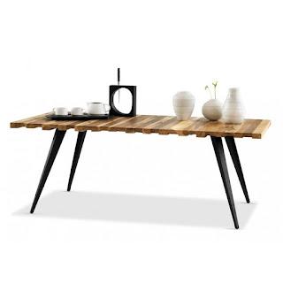 Table loft style industriel