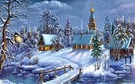 Schemi punto croce: 20 paesaggi Natalizi in offerta