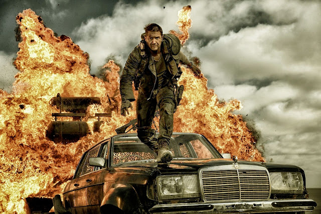 "Tom Hardy stars in George Miller's explosive ""Mad Max: Fury Road"""