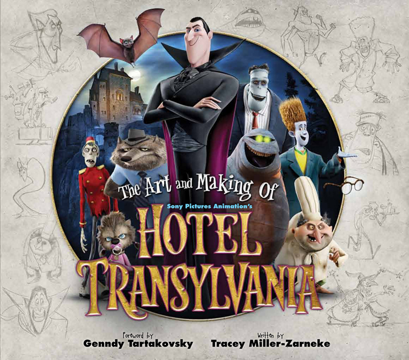 Living lines library hotel transylvania 2012 for Character hotel